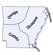 Arkansas Indian Tribes and Languages