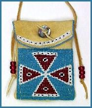 Native American Bags (Beaded Purses, Bandolier Bags
