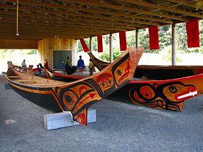 Northwest Coast Dugout Canoes
