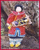 Native American Dolls: Corn husk dolls, Hopi spirit dolls