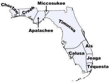 Florida Indian Tribes and Languages