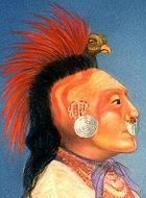 Native American Indian Hairstyles Braids Whorls