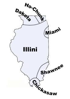 Illinois indian tribes and languages about our maps the chickasaw tribe sciox Images