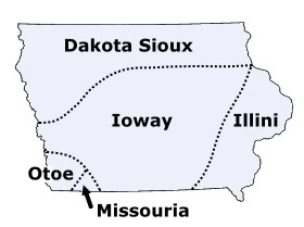 Iowa Indian Tribes and Languages