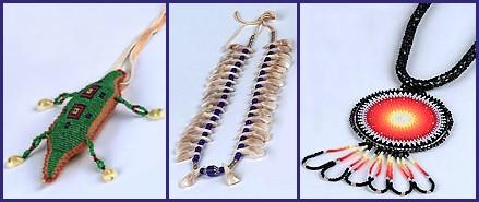 Indigenous jewelery of the americas for How to make american indian jewelry