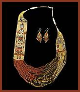 Navajo bead designs Tile Navajo Indian Beadwork Necklaces Artfirecom Native American Beadwork Wampum Belts Beaded Jewelry And Other