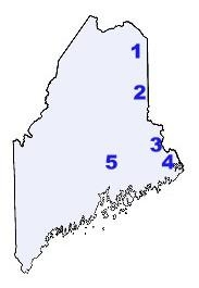 Indian Reservations Maine Map.Maine Indian Tribes And Languages