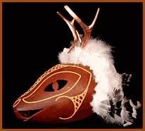 Native American Masks (Northwest Indian masks, ceremonial Hopi ...