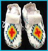Native American Moccasins Mukluks And Indian Moccasin Boots
