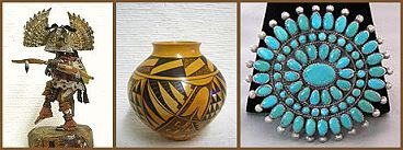 Southwest Indian Art: Jewelry, pottery, baskets, rugs, and ...