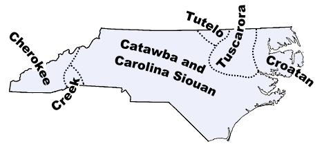 North carolina indian tribes and languages about our maps the catawba tribe sciox Images