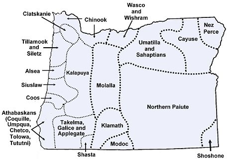 Oregon Indian Tribes And Languages